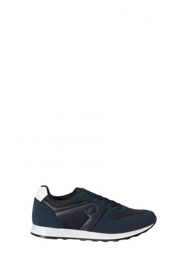 AC&Co / Altınyıldız Classics Casual Spor Sneaker Ayakkabı 4A2221100008 Lacivert